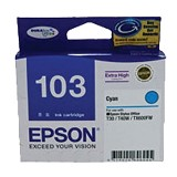 EPSON Cyan Ink Cartridge [T103290] - Tinta Printer Epson